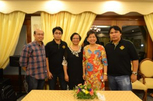 SAE with Pastor Rey, Labor Sec. Baldoz and Ambassador